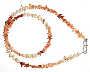 "925 Sterling Silver Multi Ethiopian Opal stone 20"" Strand Uncut 4-6mm Necklace J"