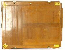 Vintage Vageeswari Teak Wood Slide Plate Holder For 12x15 Field Camera ULF