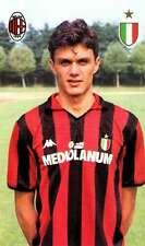 Ac Milan Cartolina Ufficiale 1988-89 Maldini Paolo!! Nuovissima!