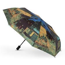"Art Collection Van Gogh ""Cafe Terrace"" Auto Folding Umbrella"