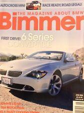 Bimmer BMW Magazine 6 Series Convertible June 2004 020718nonrh