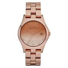 MARC BY MARC JACOBS Uhr MBM3152 HENRY Rosegold Damen Edelstahl Armbanduhr Datum