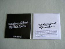 MADISEN WARD AND THE MAMA BEAR job lot of 2 promo CD singles Silent Movies