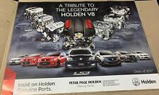 New Holden 'Tribute to the Legendary Holden V8' Poster