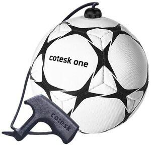 cotesk one - Trainingsball / Fußball mit Schnur und Griff in Größe 2 * NEU