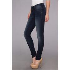 NEW RRP$299 Womens G-Star Raw 'LYNN SKINNY WMN'  DARK AGED STRETCH Jeans W25 L34
