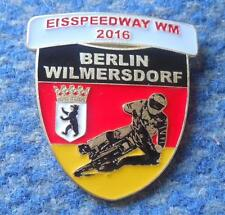 FINAL WORLD CHAMPIONSHIPS ICE SPEEDWAY BERLIN GERMANY 2016 PIN BADGE
