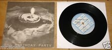 """THE BIRTHDAY PARTY ~ THE FRIEND CATCHER ~ NICK CAVE OZ GOTH PUNK 4AD UK 7"""" 1980"""