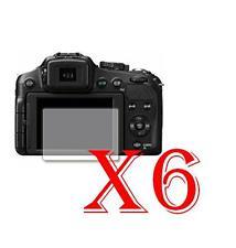 6 PZ PELLICOLA PROTEZIONE DISPLAY Panasonic Lumix DMC-FZ200 PROTEGGI SCHERMO LCD