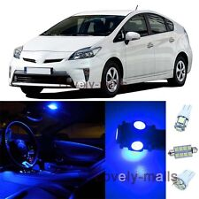 Pure Blue Light Bulb Interior SMD LED Package Kit  For  Toyota Prius 2004-2013