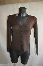 GILET LUSA TAILLE   S/M/36/38  KNIT/SUETER/MAGLIONE NEUF STRECH