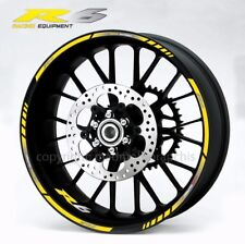 Yamaha YZF-R6 motorcycle wheel decals stickers rim stripes Laminated yzf r6 yel