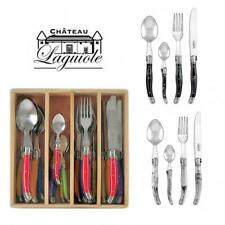 Chateau Laguiole French design Cutlery Set 24pcs Stainless Steel Dinner Bulk