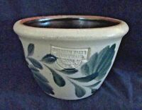 SALMON FALLS STONEWARE POTTERY Custard Cup, Green Pennsylvania, 2004, 12 oz (A)