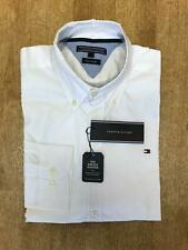 Tommy Hilfiger Men's Slightly Fitted Oxford Shirt - White - Medium