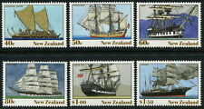 NEW ZEALAND - 1990 'NZ HERITAGE - THE SHIPS' Set of 6 MNH SG1541-1546 [B3614]