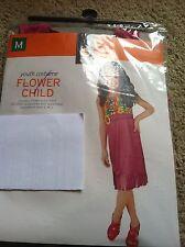 Flower Child Youth Costume Girls size Medium (6-8)