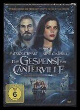 DVD DAS GESPENST VON CANTERVILLE (1996) - NEVE CAMPBELL + PATRICK STEWART * NEU