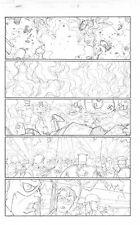 Captain America: Army p.19 - Cap & Bucky vs. Nazi Robots - art by Craig Rousseau
