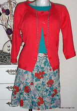 NOA NOA - Baumwoll Rock Skirt Chintan cotton size L 40 bluey vlau Baumwolle NEU