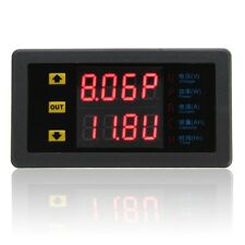 Digital Combo Meter Volt Amp Power Ah Hour Battery Capacity Tester DC 90V 20A