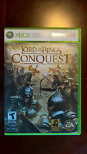 The Lord of the Rings: Conquest (Microsoft Xbox 360, 2009) Complete