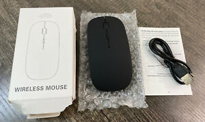 Rechargeable Bluetooth Wireless Optical Sensor Mouse for Laptop PC