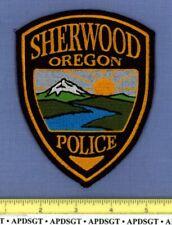 SHERWOOD OREGON Sheriff Police Patch VOLCANO MOUNTAIN RIVER