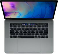 Apple MacBook Pro 15 TOUCH BAR | Certified Refurbished | Space Gray | 512GB SSD