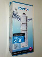 Top Fin Retreat RF-S Filter Cartridges Refill for Desktop Aquariums Small 6 Ct.