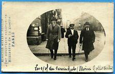 CPA PHOTO: Sous-Officiers de la mission du Général Nollet à Berlin / 1920