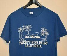 True Vintage 80's Twenty Nine Palms California Joshua Tree 50/50 T-Shirt LARGE