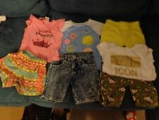 LOT OF 9 INFANT GIRL CLOTHES MIXED BRANDS ENYCE  SCOOTERS CHILDREN PLACE 24- 3T
