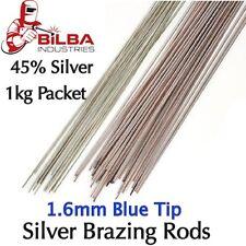 1kg 45% 1.6mm Silver Solder / Brazing Rods