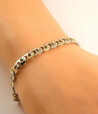 Echte Edelmetall-Armbänder ohne Steine aus mehrfarbigem Gold für Unisex