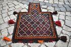 Fabulous Antique Rare Salt Bag Rug  21'' x 29'' Turkoman Tribal Salt Bag Rug