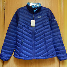 NEW Mountain Hardwear Micratio Lightweight Down Jacket Womens M Royal Blue