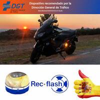 HELP REC FLASH Baliza de Luz de Emergencia ANTIATROPELLOS + Pila + Envío Gratis