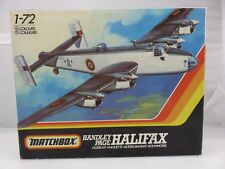 Matchbox HANDLEY PAGE HALIFAX 1/72 Scale Model Kit PK-604 UNBUILT