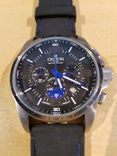 Men's Croton CC311219 Chronomaster Tachymeter WR 100m Watch—Excellent Shape!