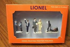 LIONEL PASSENGER STATION PEOPLE PACK HAND-PAINTED PEWTER O GAUGE