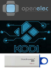 openelec 8.0.3 KODI 64 Bit 16 Gb 3.0 Usb Drive Linux Bootable PERSISTENT Install