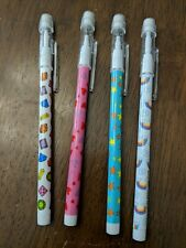 Set of Push Point Pencils Hearts Rainbows Jewels Stars 4 Party Goody Favors