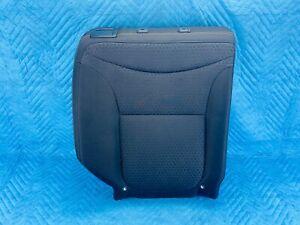 Kia Soul 2nd Row Seat Right Upper Cushion Black Cloth 2014-2016 OEM