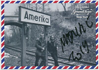 Moritz Götze - hand signed Autograph Autogramm auf Kunstkarte - Amerika