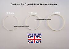 Watch Gasket For Crystal Multi Listing Sizes For 1mm+ Thickness
