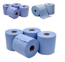 6 x Jumbo Workshop Handtücher Rollen 2 Ply Zentrum Feed Tücher geprägtem Gewebe