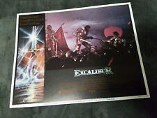 Excalibur lobby cards - Nigel Terry, Helen Mirren  - Set of 8