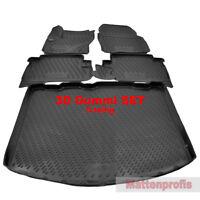 3D Gummimatten + Kofferraumwanne SET für Ford Kuga II ab Bj.2013 - Heute Nov