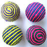 Dog Cat Kitten Pet Teaser Sisal Rope Weave Ball Play Chewing Catch Toy Funning